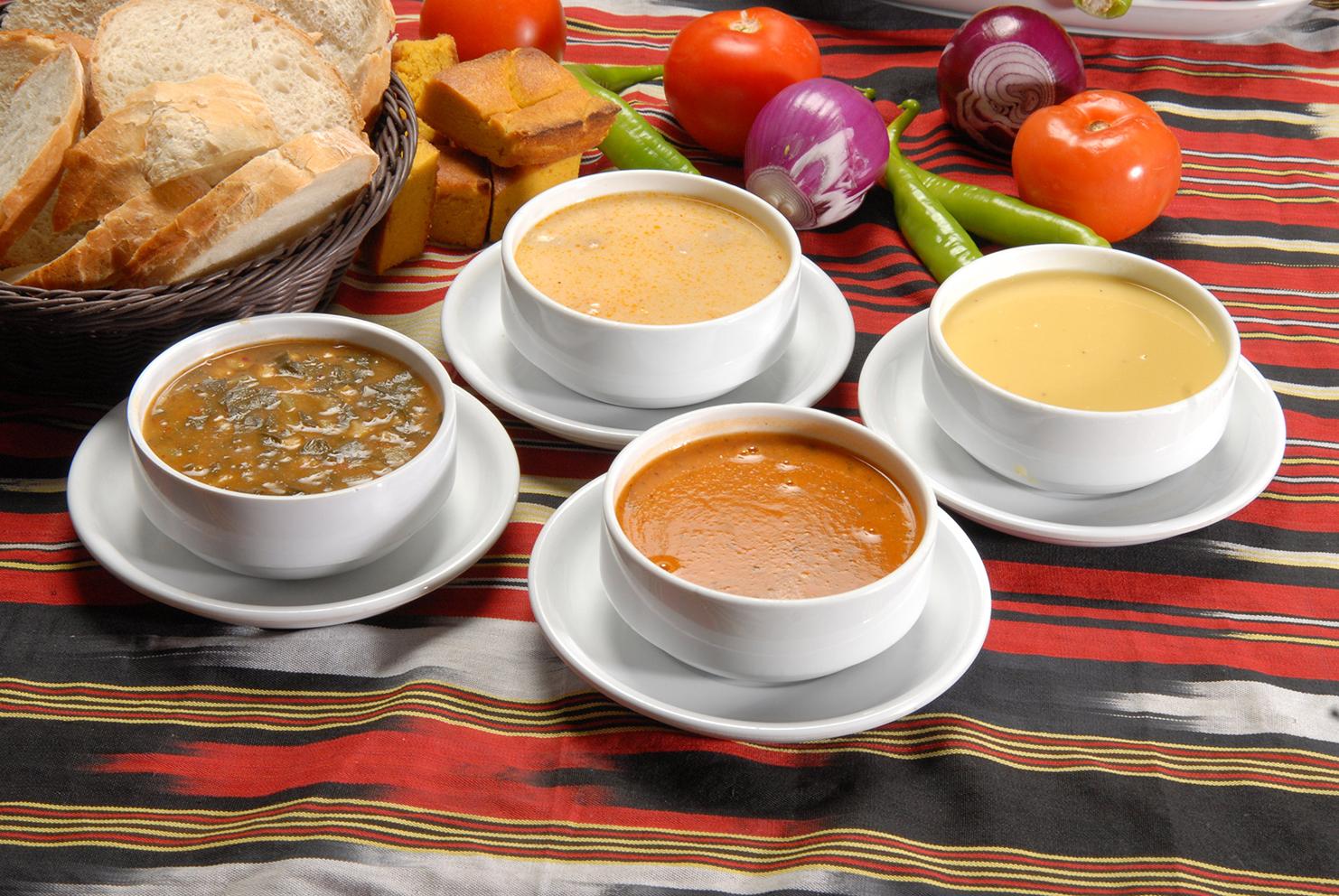 Yemeklerden önce çorba içmek