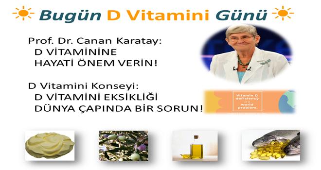 2 Kasım D Vitamini Günü