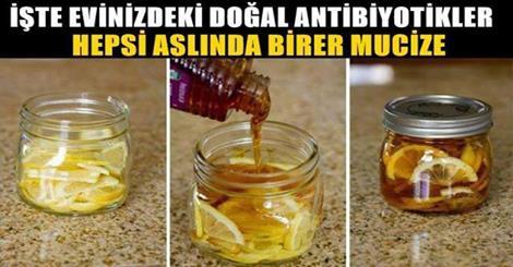 Doğal antibiyotik etkili besinler