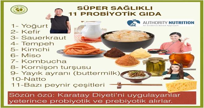 Süper sağlıklı 11 probiyotik gıda