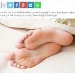 Uzmanlar bu noktadaki kasların uyarılmasıyla kramp, baş-bacak ağrısı, stres ve yüksek tansiyonun düşürülebildiğini belirtiyor.