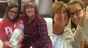 54 Yaşındaki kadın torununu doğurdu