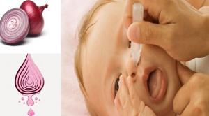Bebeğin burnuna soğan suyu damlatmak