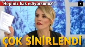 Esra Erol canlı yayında çılgına döndü!