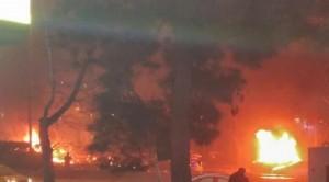 Ankara'da patlama! Güvenpark'ta patlama Bomba yüklü araçlar patladı