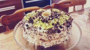 Çilekli Muzlu Kivili Yaş Pasta