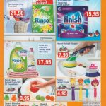 20 Mayıs 2016 BİM Kataloğu'nun 2. sayfasını incelediğimizde temizlik ürünlerinin uygun fiyatlar ile satışa sunulacağını görmek mümkün.