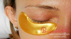 Göz altı torbaları için sarı karbonat maskesi nasıl yapılır