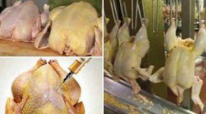 Tavuk etinde arsenik ve amonyak çıktı