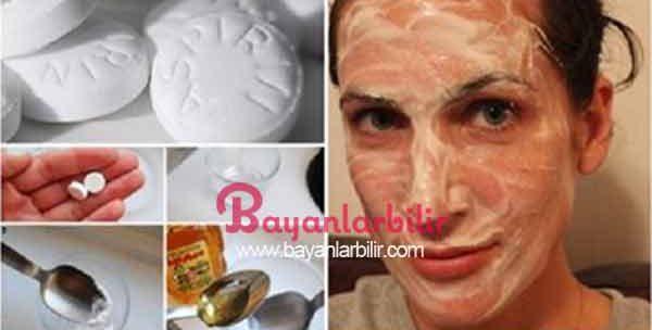 Bal ve aspirin maskesi ile sivilcelere kesin çözüm