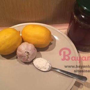 Bütün vücudu iyileştiren en etkili karışım bal limon karbonat sarımsak