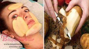 Yüzdeki lekeleri geçiren patates maskesi nasıl yapılır