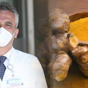 Koronavirüsü yenen doktordan Zerdeçal ve C vitamini tavsiyesi