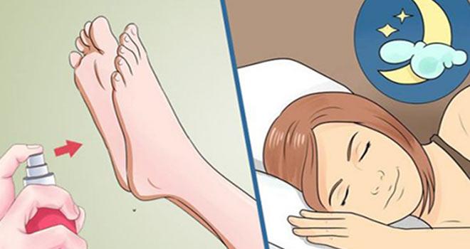 Uykudan Önce Bunu Ayağına Sür