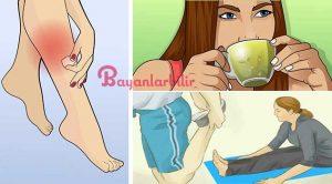 Bacak krampları için 4 harika çözüm