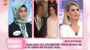 Esra Erol Nevruz Hanım evli mi ?