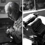 Daktilo ile resim yapan adam Paul Smith: Dünya onu daktilo sanatçısı olarak tanıyor. 85 yalında hayata gözlerini kapatan bu yetenekli adam felçli ve istemsiz haraketleri var. Yani masada duran bir bardağı asla eline alıp dökmeden içemez. Günlük ihtiyaçlarını karşılaması için birine muhtaç. haberin devamı için resme tıklayın