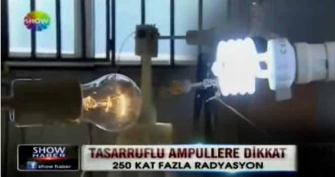 Enerji tasarruflu ampul zararları