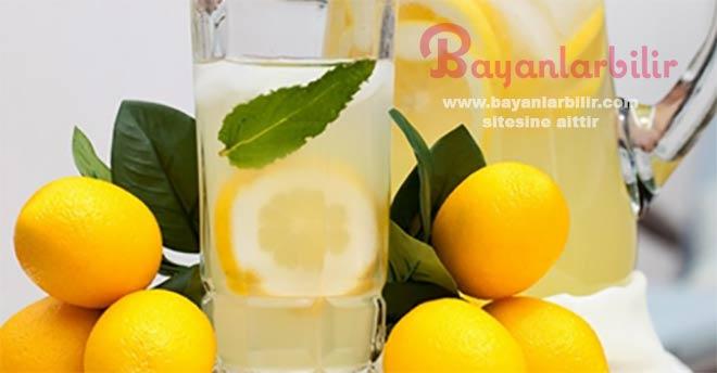 Limonlu suyun iyi geldiği rahatsızlıklar nelerdir