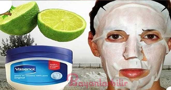 Vazelin ve limon suyu mucizesi